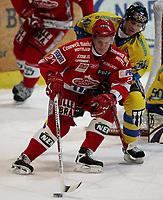 Ishockey   16  november   2006  - GET ligaen<br /> Hamar OL-Amfi    <br /> Foto: Dagfinn Limoseth, Digitalsport <br /> <br /> Storhamar v Stjernen <br /> <br /> Trond Magnussen , Stjernen og Perry Johnson , Storhamar