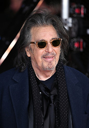 Al Pacino attending the 73rd British Academy Film Awards held at the Royal Albert Hall, London. Photo credit should read: Doug Peters/EMPICS Entertainment