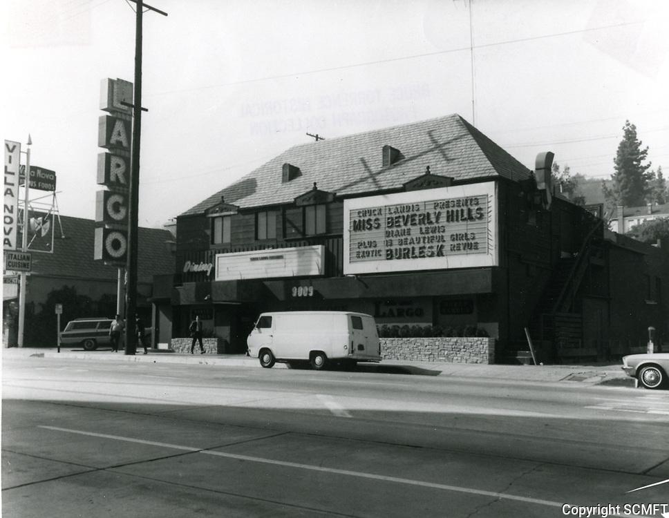 1968 Largo Burlesque on Sunset Blvd.