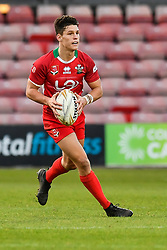 11th November 2018 , Racecourse Ground,  Wrexham, Wales ;  Rugby League World Cup Qualifier,Wales v Ireland ; Josh Ralph of Wales <br /> <br /> <br /> Credit:   Craig Thomas/Replay Images