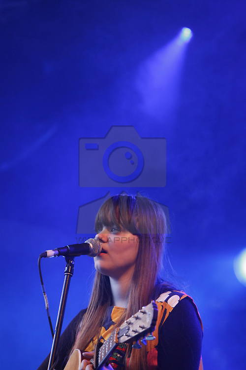 First Aid Kit performing live at the Castle Palooza music festival 2010. Pic Andres Poveda