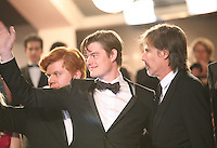 Danny Morgan, Sam Riley, Walter Salles, at the On The Road gala screening red carpet at the 65th Cannes Film Festival France. The film is based on the book of the same name by beat writer Jack Kerouak and directed by Walter Salles. Wednesday 23rd May 2012 in Cannes Film Festival, France.