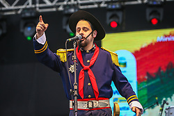 Capitao Faustino se apresenta na 41a Expointer realizada em Esteio, Rio Grande do Sul. FOTO: Gustavo Granata/ Agência Preview