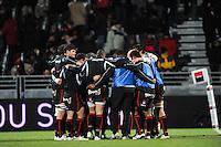 Equipe Lyon OU - 28.12.2014 - Lyon Olympique / Clermont - 14eme journee de Top 14 <br />Photo : Jean Paul Thomas / Icon Sport