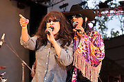 Question Mark & the Mysterians joined by the legendary Ronnie Spector at Lincoln Center NYC for the  Ponderosa Stomp/Detroit Breakdown 7/31/10