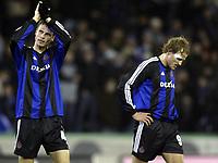Fotball<br /> UEFA-cup<br /> Club Brugge v Bordeaux<br /> 25. mars 2004<br /> Foto: Digitalsport<br /> Norway Only<br /> <br /> ROZEHNAL - SÆTERNES /