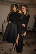 CHLOE HERBERT; FRANCESCA HERBERT, Cartier 25th Racing Awards, the Dorchester. Park Lane, London. 10 November 2015
