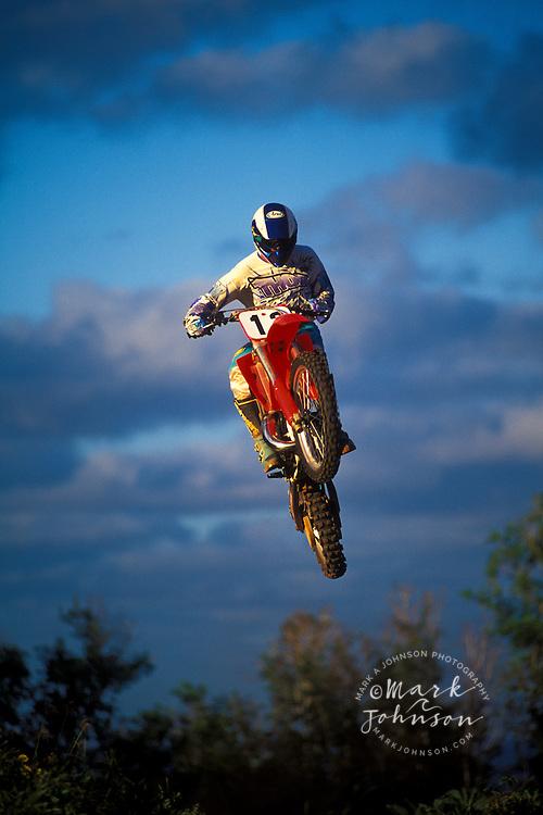 Motocross jump, Kauai, Hawaii ****Model Release available