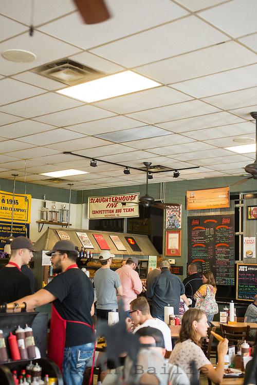 Joe's Kansas City is a famous bbq restaurant in Kansas City, Missouri.