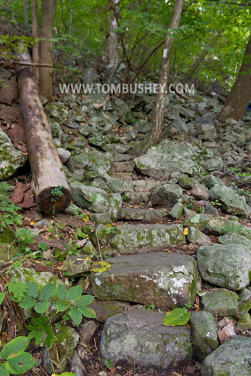 Vernon, New Jersey - Hike on the Appalachian Trail up Wawayanda Mountain on the Stairway to Heaven and then views from Pinwheel Vista on Sept. 22, 2012.