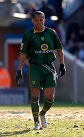 Photo: Daniel Hambury.<br />Crystal Palace v Norwich City. Coca Cola Championship. 25/02/2006.<br />Norwich's Robert Earnshaw.