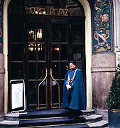 Doorman at Hotel Pariz, Prague, Czech Republic