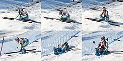 22.01.2011, Tofana, Cortina d Ampezzo, ITA, FIS World Cup Ski Alpin, Lady, Cortina, Abfahrt, im Bild Combo zum Ausfall von Tina Maze (SLO, #14) enttäuscht // Combo disappointed Tina Maze (SLO) during FIS Ski Worldcup ladies Downhill at pista Tofana in Cortina d Ampezzo, Italy on 22/1/2011. EXPA Pictures © 2011, PhotoCredit: EXPA/ J. Groder