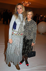 BAY GARNETT and her mother POLLY DEVLIN at the Moet & Chandon Fashion Tribute 2005 to Matthew Williamson, held at Old Billingsgate, City of London on 16th February 2005.<br /><br />NON EXCLUSIVE - WORLD RIGHTS