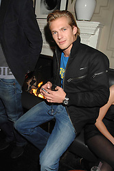 JACOBI ANSTRUTHER-GOUGH-CALTHORPE at a leaving party for Poppy Delevigne who is going to New York to persue a career as an actress, held at Chloe, Cromwell Road, London on 25th January 2007.<br /><br />NON EXCLUSIVE - WORLD RIGHTS