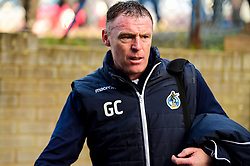 Bristol Rovers manager Graham Coughlan arrives at Roots Hall prior to kick off - Mandatory by-line: Ryan Hiscott/JMP - 02/02/2019 - FOOTBALL - Roots Hall - Southend-on-Sea, England - Southend United v Bristol Rovers - Sky Bet League One