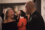 VICTORIA MIRO;  CHRISTIAN HOLDER, Peter Doig  was the fourth artist to receive the  annual Art Icon award. Whitechapel Gallery. London.  26 january 2017