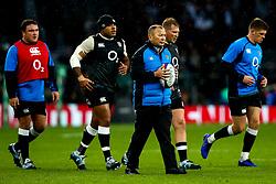 England head coach Eddie Jones - Mandatory by-line: Robbie Stephenson/JMP - 10/11/2018 - RUGBY - Twickenham Stadium - London, England - England v New Zealand - Quilter Internationals
