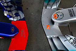 July 6, 2017 - Spielberg, Austria - Motorsports: FIA Formula One World Championship 2017, Grand Prix of Austria, .technical detail, front wing  (Credit Image: © Hoch Zwei via ZUMA Wire)