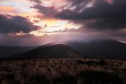 September sunrise over Jane Bald, Roan Highlands