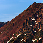 A prominant ridgeline in the Gore Mountain Range outside of Vail, Colorado.