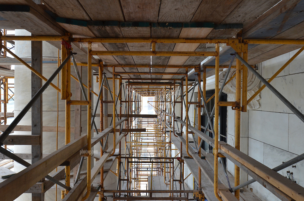 New Haven Courthouse GA 23 Phase 1. Project No: BI-JD-299<br /> Architect: JCJ Architecture  Contractor: Kronenberger Restoration<br /> James R Anderson Photography New Haven CT photog.com<br /> Date of Photograph: 18 June 2013<br /> Camera View: West - South Elevation  No.: 26