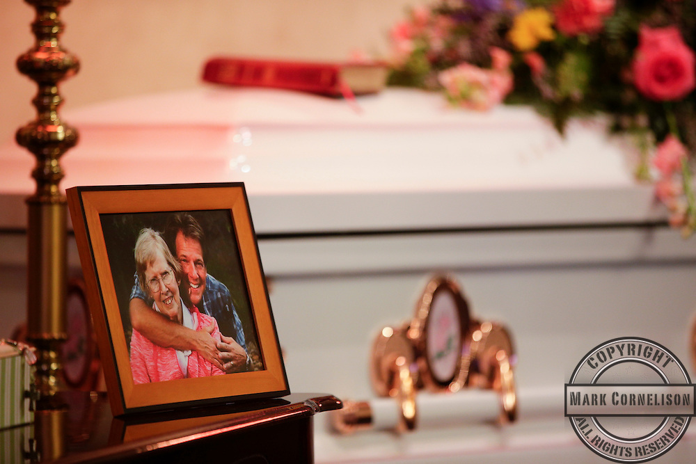 Aunt Babs funeral on  March 18, 2015 in Russell Springs, Ky. Photo by Mark Cornelison | Staff