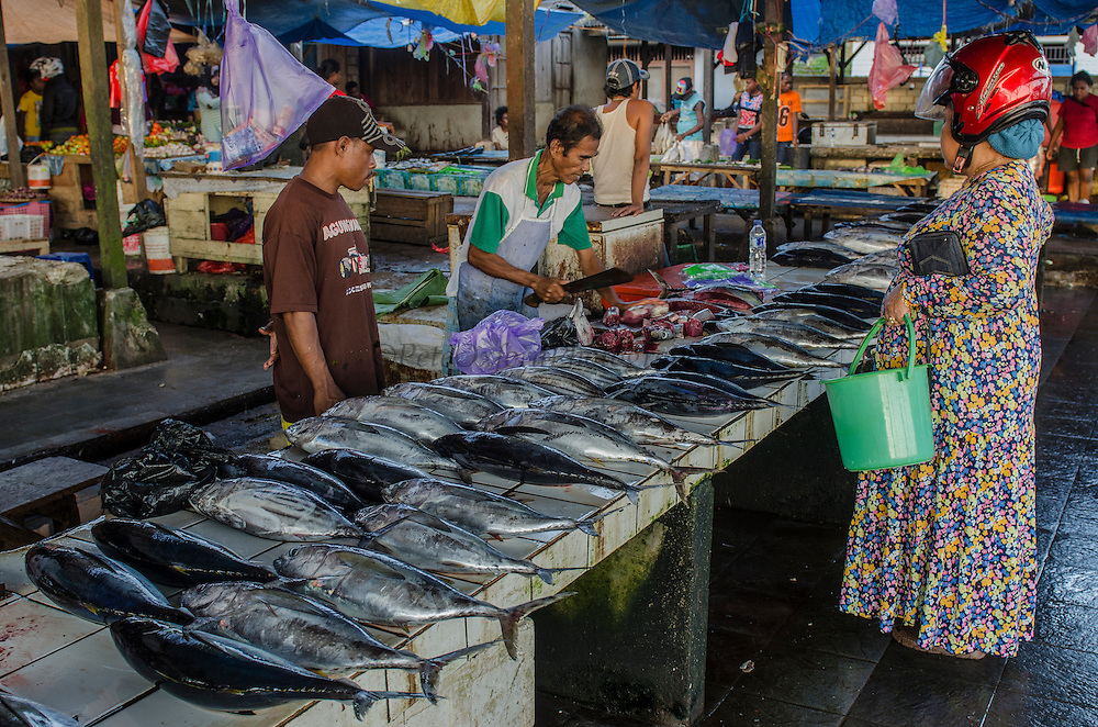 Fish Market<br /> Biak Island<br /> West Papua<br /> Indonesia