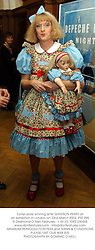Turner prize winning artist GRAYSON PERRY at an exhibition in London on 23rd March 2004.PSS 285