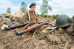 Duke of Wellingtons Regiment Living History Trench<br />  17 July 2016<br />  Copyright Paul David Drabble<br />  www.pauldaviddrabble.photoshelter.com