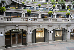 "View  of the upmarket  ""1881 Heritage"" hotel and shopping mall in Tsim Sha Tsui Hong Kong"