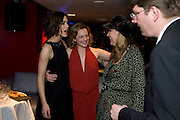 Keira Knightley; Elisabeth Moss; Sonia Friedman following the press night of 'The Children's Hour' at Comedy Theatre. Afterparty Penthouse Leicester Sq. London. 9 February 2011. -DO NOT ARCHIVE-© Copyright Photograph by Dafydd Jones. 248 Clapham Rd. London SW9 0PZ. Tel 0207 820 0771. www.dafjones.com.
