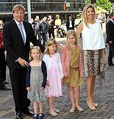 Prins Willem Alexander, Maxima en hun kinderen in de HMH