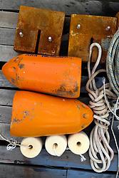 Dock Still Life, Castine, Maine, US
