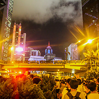 A sea of protesters marches in Central Hong Kong. Protests erupted this June in opposition to a controversial extradition bill.