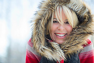 Dana and Mary…fun in the snow
