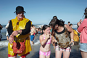 Every 24th of August close to Esposende in the north of Portugal, a small neighbourhood celebrate Saint Bartholomew of the Sea. The celebration consist of a mass, the baptism of the children in the sea and a procession.