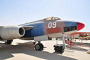 Israel, Hazirim, near Beer Sheva, Israeli Air Force museum. The national centre for Israel's aviation heritage. Sud Aviation (SNCASO) S.O. 4050 Vautour II Bomber
