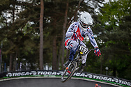 #157 (DEUMIE Valentin) FRA during round 3 of the 2017 UCI BMX  Supercross World Cup in Zolder, Belgium,