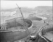 1213-2. New tank construction at Terminal 4. December 1954.