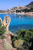 "Cala Corsada - Spargi island - Maddalena archipelago - International Marin park of ""Bouches de Bonifacio"" - Sardinia - Italy"