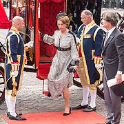 NLD/Den Haag/20180918 - Prinsjesdag 2018, Jan Versteeg en Bibi Zuylen van Nijevelt