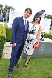 KELLY BROOK and NATHANIEL PARKER at the 3rd day of the 2012 Glorious Goodwood racing festival at Goodwood Racecourse, West Sussex on 2nd August 2012.
