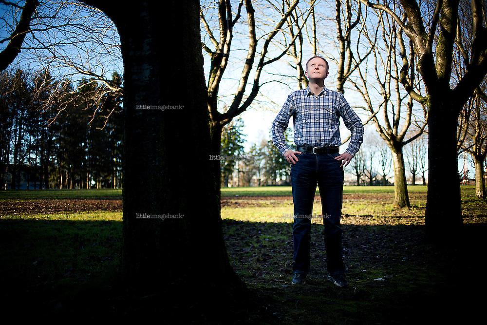 Oslo, Norge, 15.11.2012. Morten Nordhagen Ottosen, fersk doktor i historie, som har skrevet om bøndens rolle i norsk kamp for selvstendighet. Foto: Christopher Olssøn.