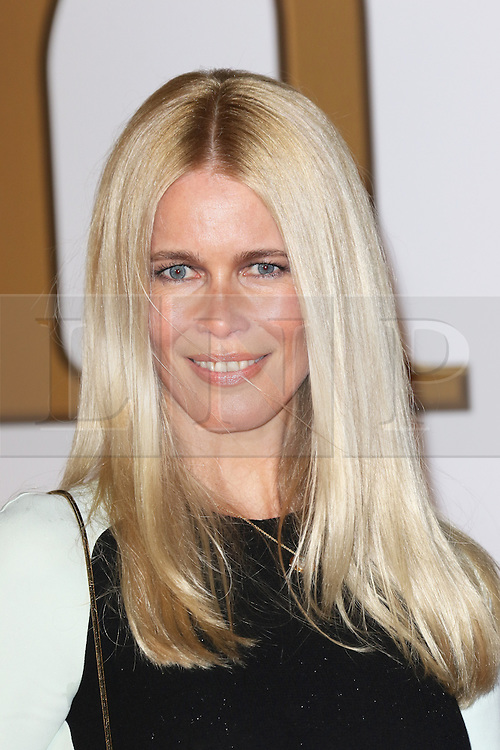 © Licensed to London News Pictures. 14/01/2015, UK. Claudia Schiffer, Kingsman: The Secret Service - World Film Premiere, Leicester Square, London UK, 14 January 2015, Photo credit : Richard Goldschmidt/Piqtured/LNP