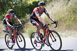 July 15, 2017 - Rodez, FRANCE - Belgian Greg Van Avermaet of BMC Racing Team pictured in action during the 14th stage of the 104th edition of the Tour de France cycling race, 181,5 from Blagnac to Rodez, France, Saturday 15 July 2017. This year's Tour de France takes place from July first to July 23rd. BELGA PHOTO YUZURU SUNADA (Credit Image: © Yuzuru Sunada/Belga via ZUMA Press)