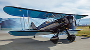 Starting the Waco YPF-6 at WAAAM