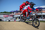 #89 (BONDARENKO Yaroslava) RUS at Round 4 of the 2018 UCI BMX Superscross World Cup in Papendal, The Netherlands