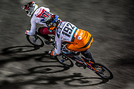 #192 (VAN DER BURG Dave) NED [Meybo, TeamNL] at Round 7 of the 2019 UCI BMX Supercross World Cup in Rock Hill, USA