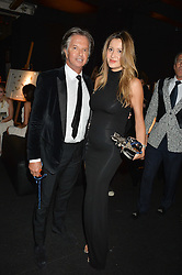 RICHARD CARING and PATRICIA MONDINNI  at The Animal Ball presented by Elephant Family held at Victoria House, Bloomsbury Square, London on 22nd November 2016.